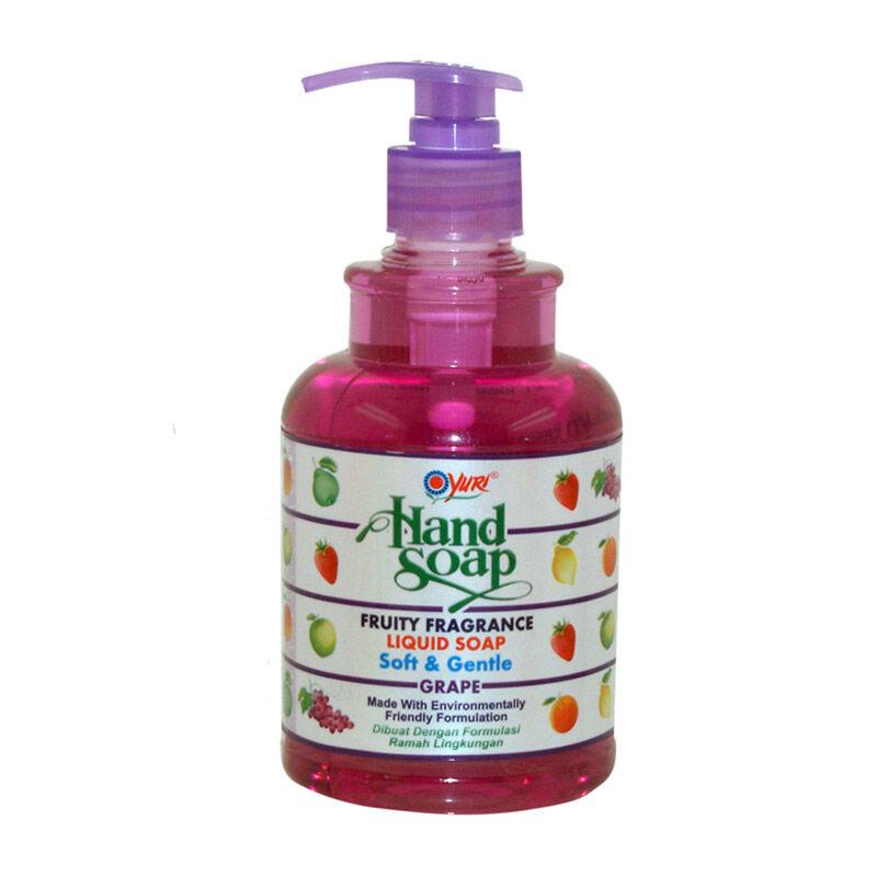 YURI HAND SOAP PUMP GRAPE 410 ML