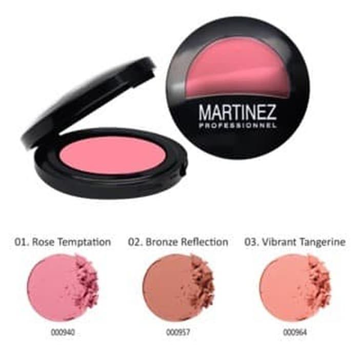 MARTINEZ BLUSH ON 02 BRONZE REFLECTION 8 GR