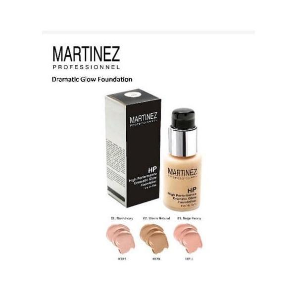 MARTINEZ DRAMATIC GL FOUNDATION 01 BLUSH IVORY 30 ML